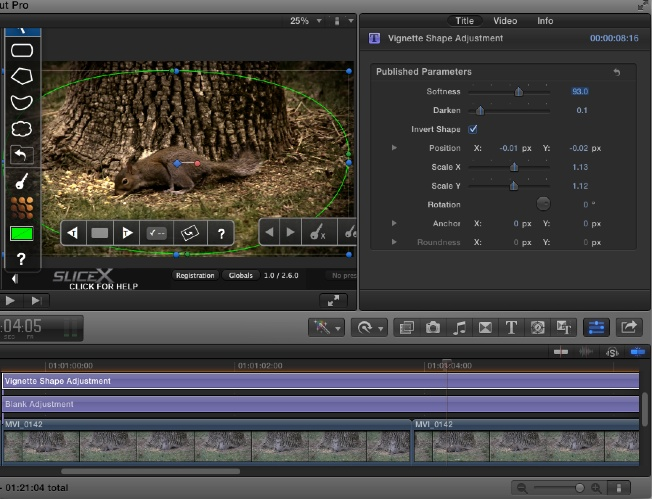 Review: SliceX powered by mocha is a must have for FCPX 45