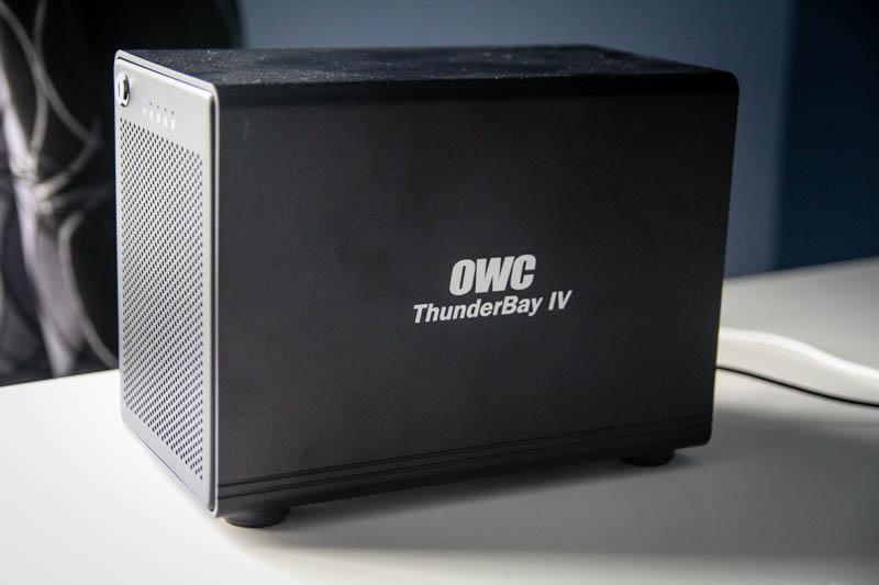 other world computing ThunderBay IV thunderbolt