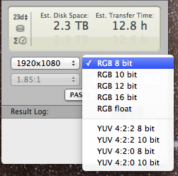 Timecode calculators in the Mac App store, free but not great 15