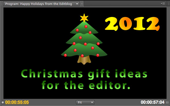 Christmas Gift Ideas for the Editor - 2012 Edition 29