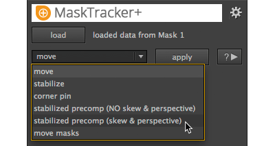 MaskTracker+: quick planar tracking inside After Effects 3