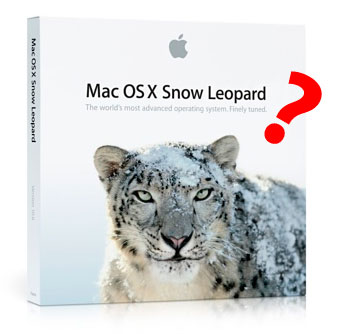 Snow Leopard - Go or No Go? 3