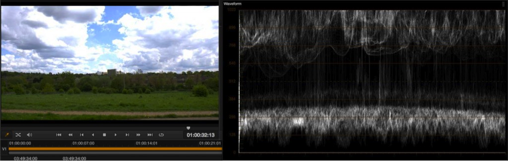 Exposure levels using EI ISO and zebras with the PMW-F5 and RAW 20