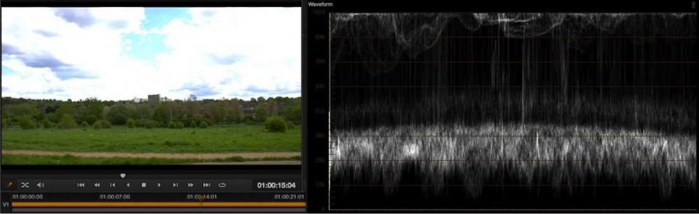 Exposure levels using EI ISO and zebras with the PMW-F5 and RAW 23