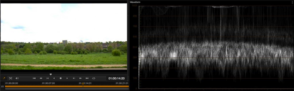 Exposure levels using EI ISO and zebras with the PMW-F5 and RAW 26