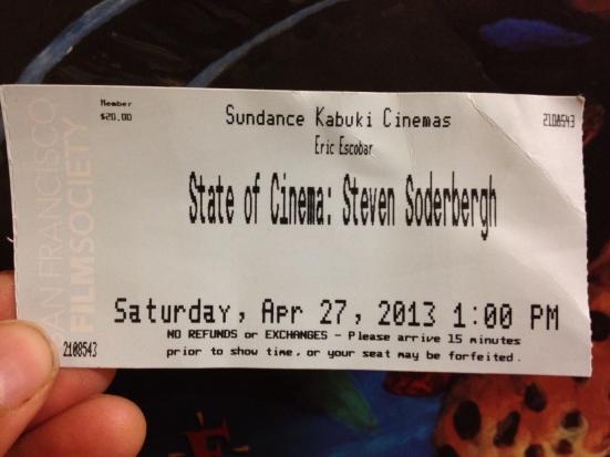 Steven Soderbergh's State of Cinema 2013 3