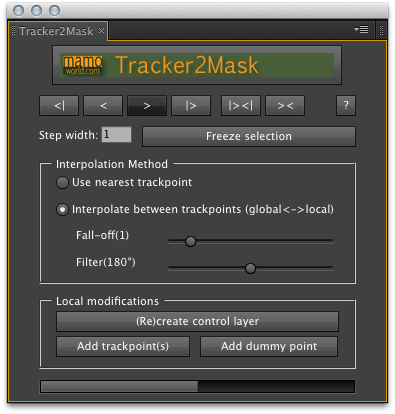 After Effects Script of the Week: Tracker2Mask 1