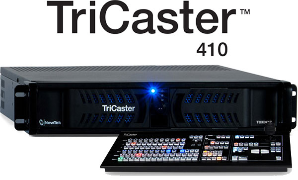 Get the most from a NewTek TriCaster when You Bundle it with a Control Surface! 4