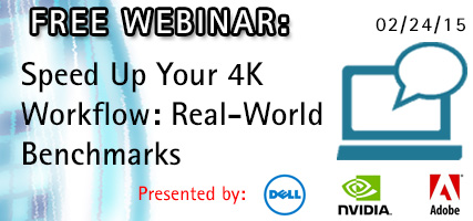 UPDATE: Join Jeff Greenberg as He Explains How Professionals Can Speed Up Their 4K Workflow 12