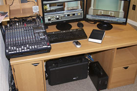 Small congregation uses Telestream Wirecast Pro and Matrox VS4 live video streaming technology 11