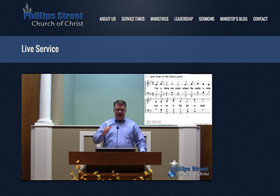 Small congregation uses Telestream Wirecast Pro and Matrox VS4 live video streaming technology 12