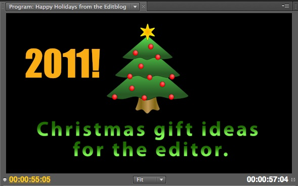 Yet another holiday season is upon us. What do you get for the editor in your life who may or may not have everything? Hereu0027s a few suggestions that just ...  sc 1 st  ProVideo Coalition & Christmas Gift Ideas for the Editor in Your Life by Scott Simmons ...