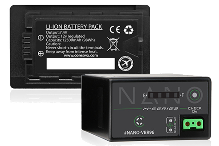 Core SWX introduces Nano-M battery for Panasonic, Sony and Canon