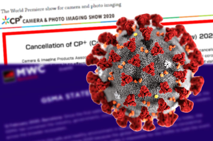 Coronavirus leads to cancellation of CP+ and MWC Barcelona 2020