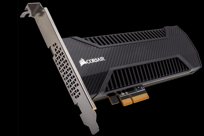 Corsair moves SSDs into the fast lane
