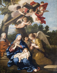 'The Holy Family', studio of Pietroda Cortona, c.1650-1700, Birmingham Museum and Art Gallery