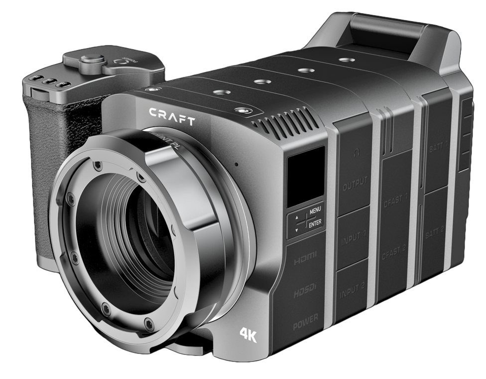 Craft camera cinema build