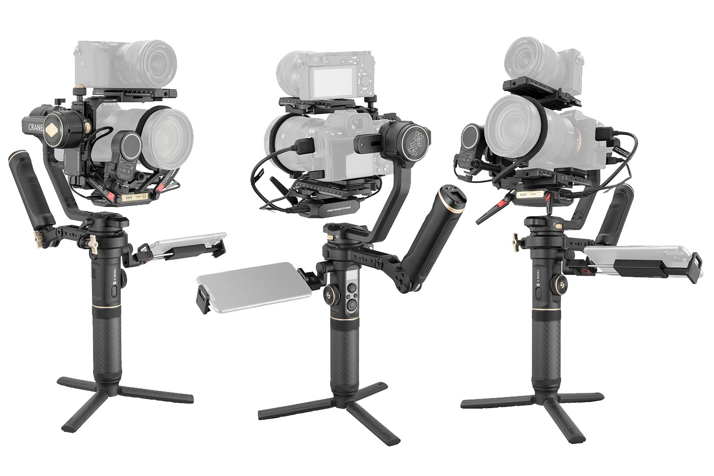 Zhiyun Crane 2S Pro, a new three-axis handheld gimbal