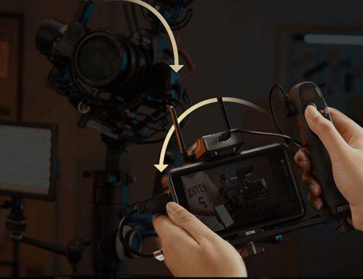 Zhiyun CRANE 3S: a modular gimbal for small DSLRs and large cinema cameras