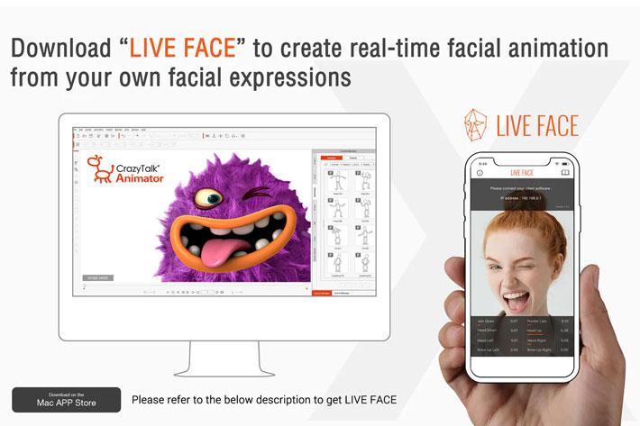 CrazyTalk Animator 3 Pro for Mac: download it FREE now 1