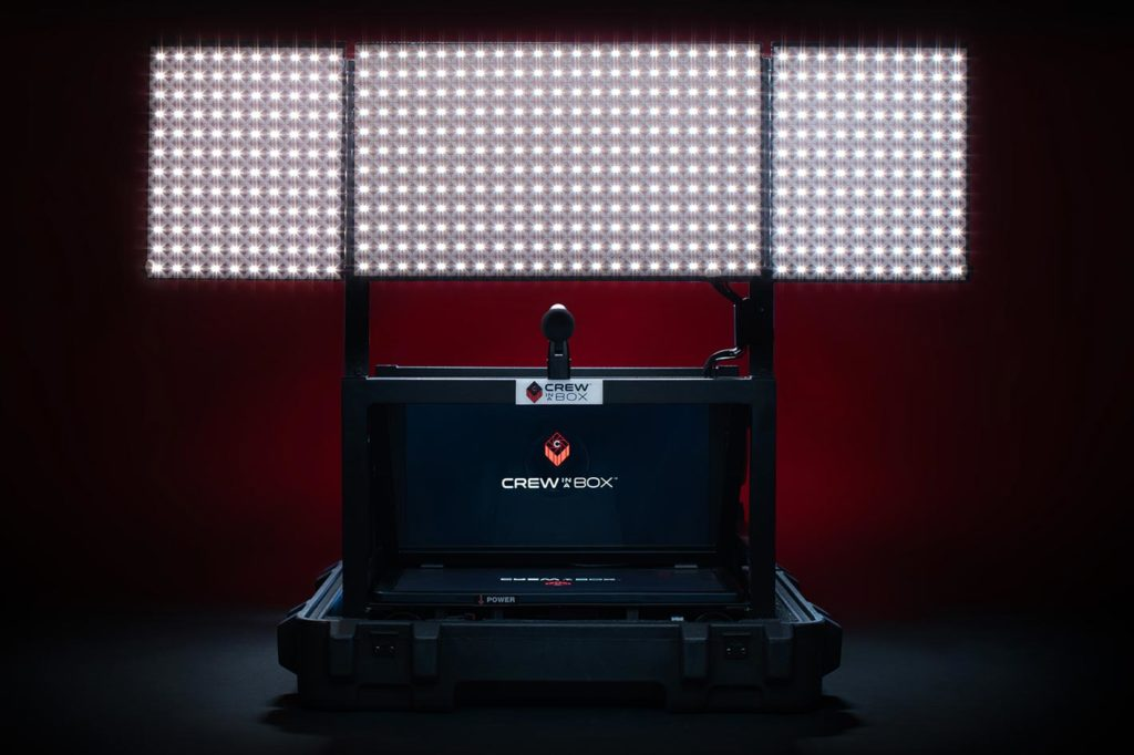 Crew in a Box: remote video production solution for the pandemic