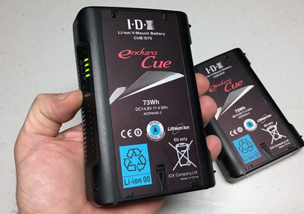 REVIEW: IDX CUE-D75 Battery 1