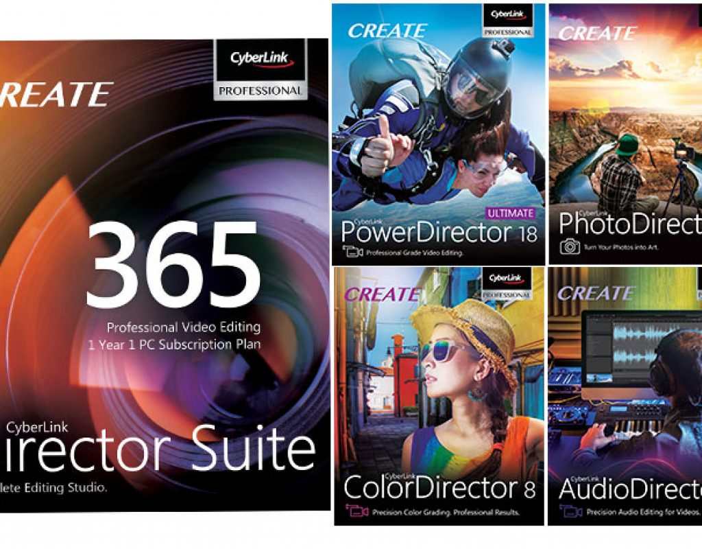 CyberLink: PowerDirector 18 and PhotoDirector 11 released 7