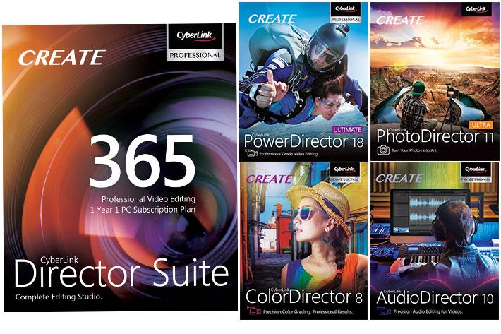 CyberLink: PowerDirector 18 and PhotoDirector 11 released 2