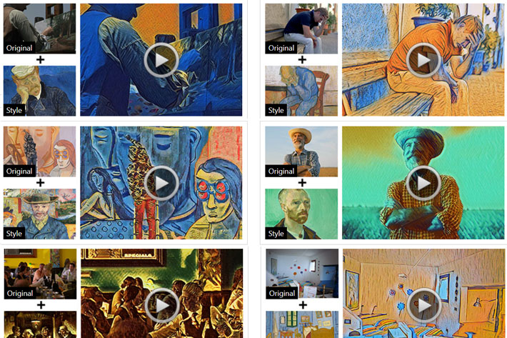 CyberLink AI Style Video transforms videos in live paintings