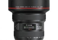 Canon's Newest Wide Lens