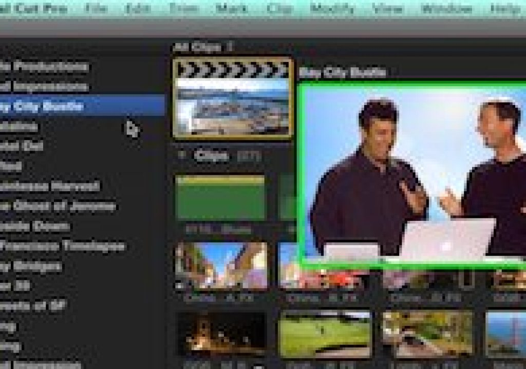 Working with Libraries in Final Cut Pro X 1