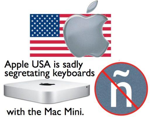 Apple USA unfortunately segregates Mac Mini's keyboard options 5