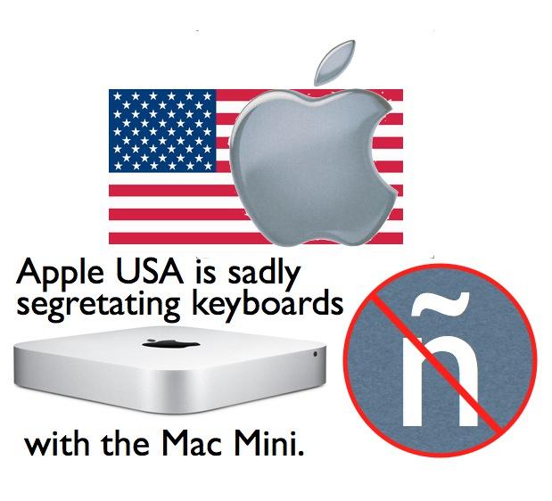 Apple USA unfortunately segregates Mac Mini's keyboard options 1