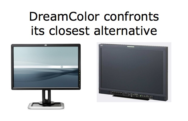 HP DreamColor versus its closest alternative 1