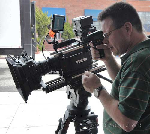 Pix: Zacuto rig; RED tests 45