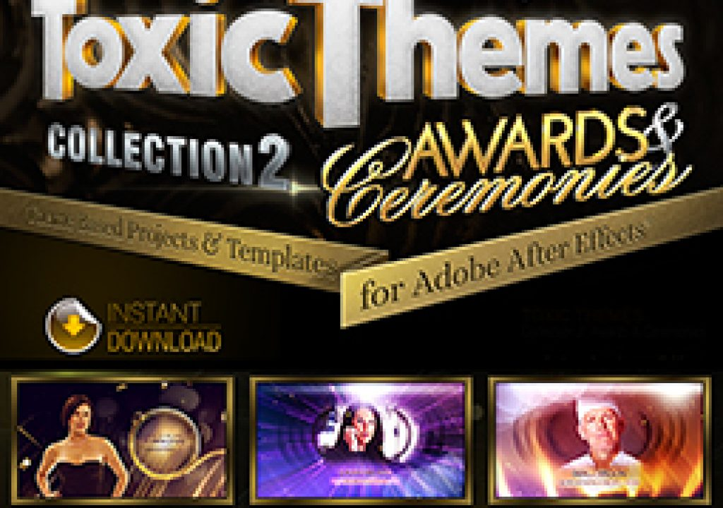 All-New Premium Animation Templates A Perfect Match For Awards & Ceremonies 3