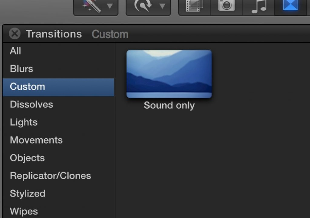 Day 26 #28daysofquicktips - Make an Audio-only Dissolve in Final Cut Pro X 7