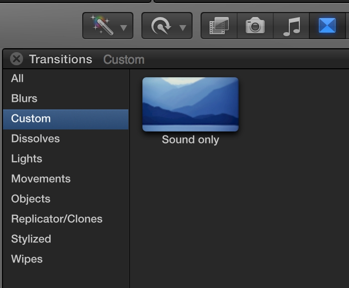 Day 26 #28daysofquicktips - Make an Audio-only Dissolve in Final Cut Pro X 6