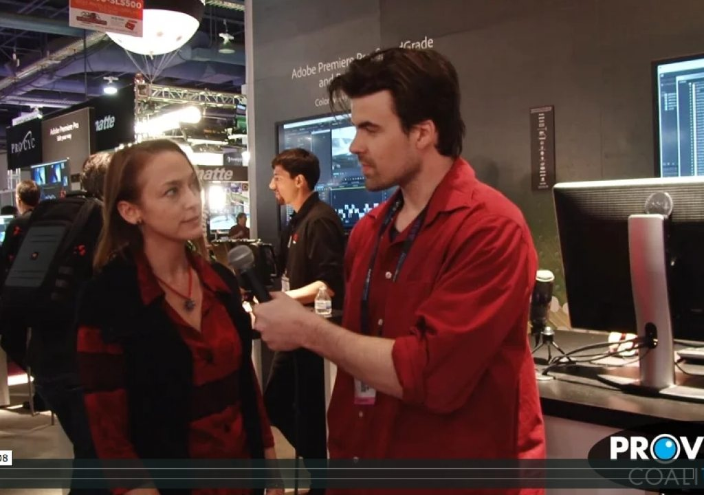 PVC at NAB 2015 - Interview with Christine Steele 1
