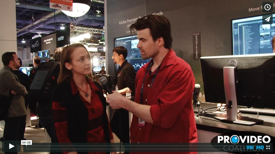 PVC at NAB 2015 - Interview with Christine Steele 8