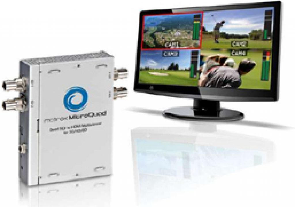 Mobile production truck converts to HD and Matrox MicroQuad multiviewers go along for the ride 7