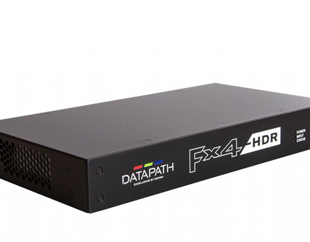 Datapath to show the new Fx4-HDR at ISE 2020