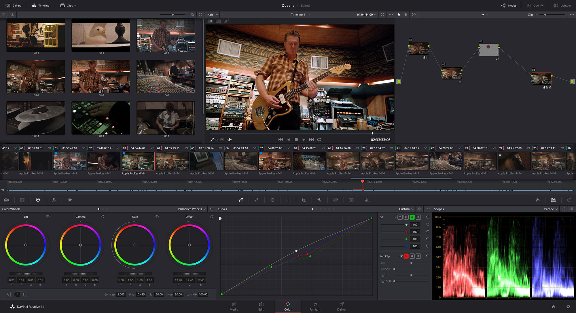 DaVinci Resolve 14 is now shipping
