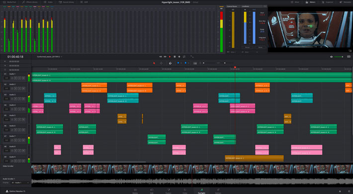 DaVinci Resolve 15: spotlight on some of the new features