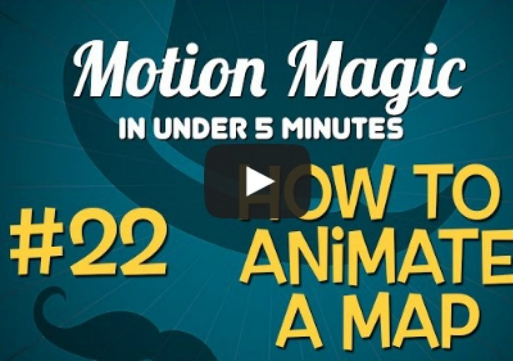 Creating an Animated Map with Motion 1