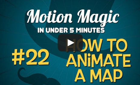 Creating an Animated Map with Motion 3