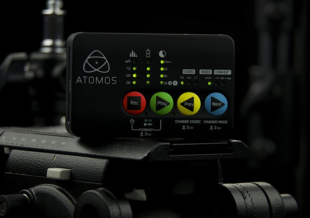 Atomos Ship World's Smallest ProRes Recorder 3
