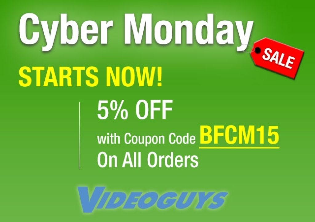 Videoguys Round Up of Cyber Monday Specials #cybermonday 1