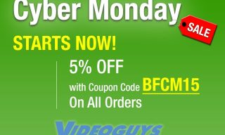 Videoguys Round Up of Cyber Monday Specials #cybermonday