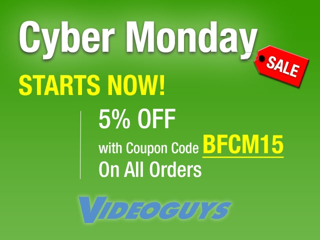 Videoguys Round Up of Cyber Monday Specials #cybermonday 3